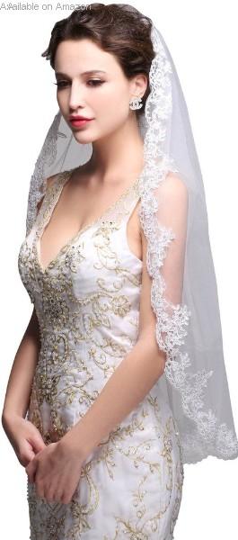 elegent-lace- wedding-veil