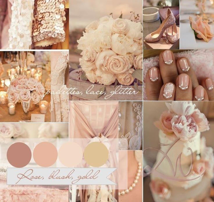 glamorous-gold-&-blush-wedding-color