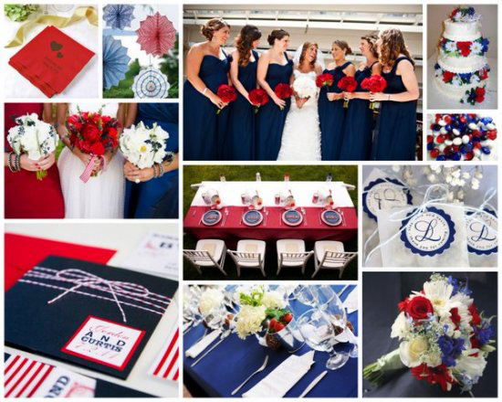 red-white-&-blue-wedding-color