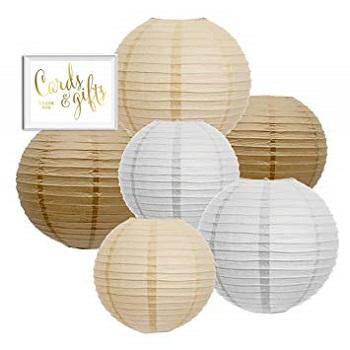 Andaz Round Paper Lanterns