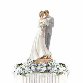 Legacy of Love Wedding Bride and Groom Newlywed Cake Topper