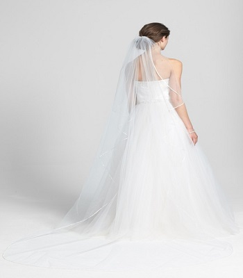 Nordstrom Long Cathedral Veil