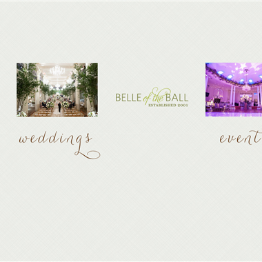 Belle Events wedding vendor preview