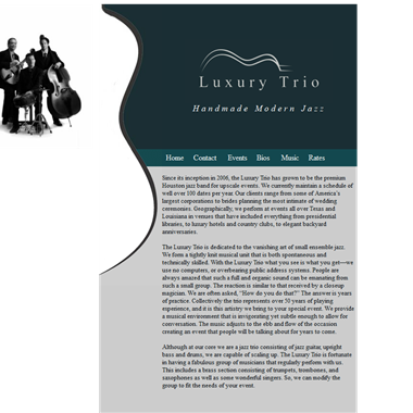 Luxury Trio wedding vendor preview