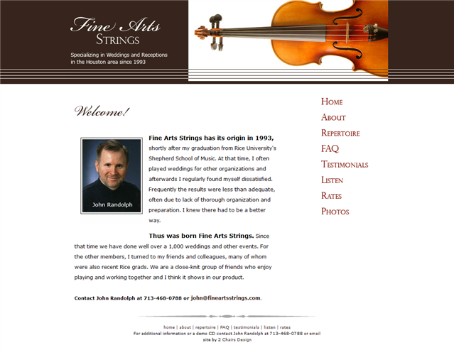 Fine Arts Strings wedding vendor photo
