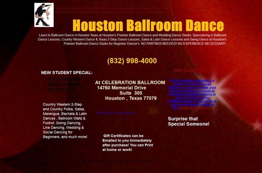 Houston Ballroom Dance wedding vendor photo