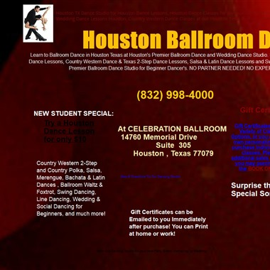 Houston Ballroom Dance wedding vendor preview