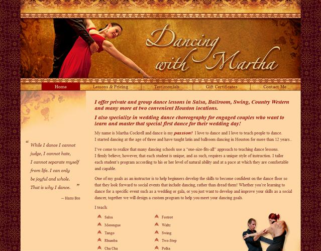 Dancing With Martha wedding vendor photo