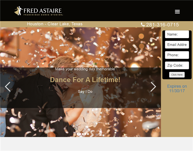 Fred Astaire Clear Lake  wedding vendor photo
