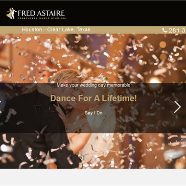 Fred Astaire Clear Lake  wedding vendor preview