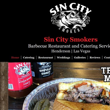 Sin City Smokers wedding vendor preview