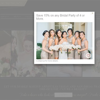 Brianna Michelle Beauty wedding vendor preview