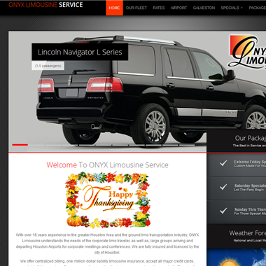 Onyx Limo in Houston  wedding vendor preview