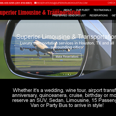 Superior Limousine wedding vendor preview