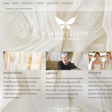 Joan Pillow Bridal  wedding vendor preview