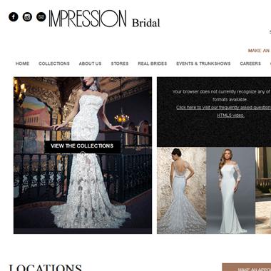 Impression Bridal Store wedding vendor preview