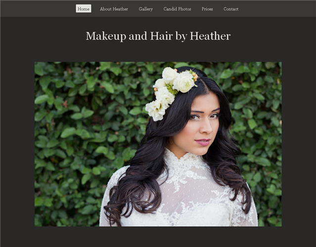 Makeup and Hair by Heather wedding vendor photo
