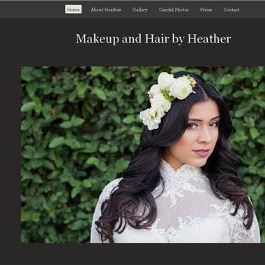 Makeup and Hair by Heather wedding vendor preview