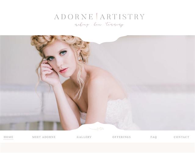 Adorne Artistry wedding vendor photo
