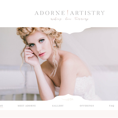 Adorne Artistry wedding vendor preview