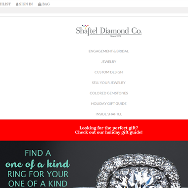Shaftel Diamond Co. wedding vendor preview