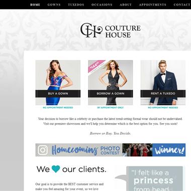 Couture House wedding vendor preview