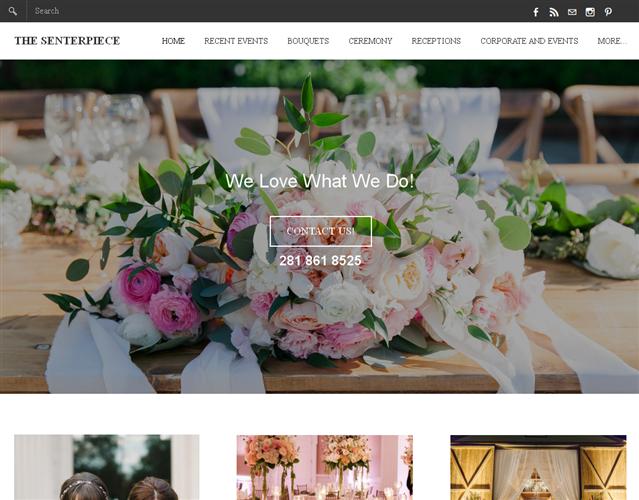 The Senterpiece Flowers wedding vendor photo