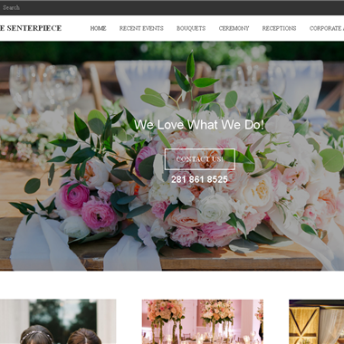 The Senterpiece Flowers wedding vendor preview