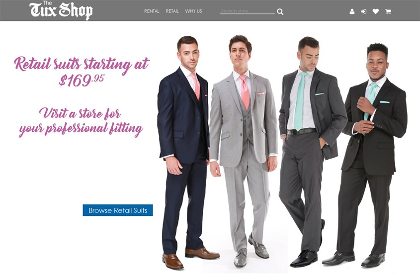 The Tux Shop wedding vendor photo