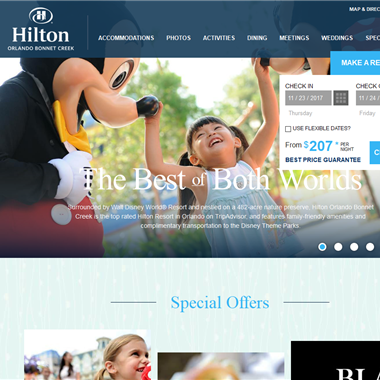 Hilton Bonnet Creek wedding vendor preview