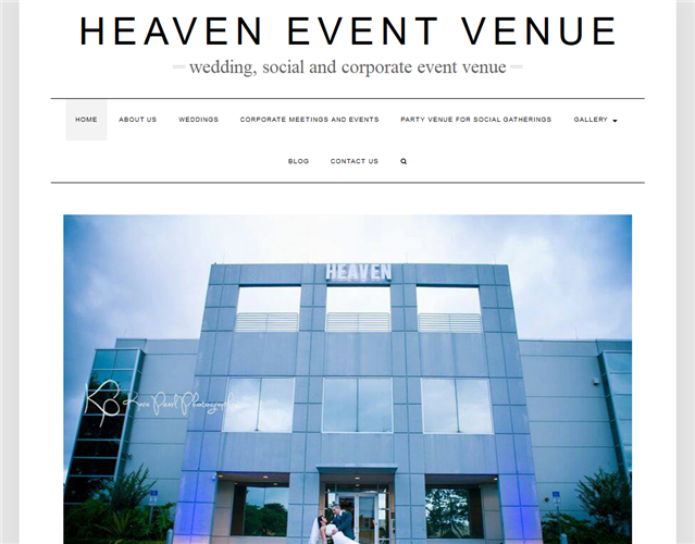 Heaven Event Venue wedding vendor photo