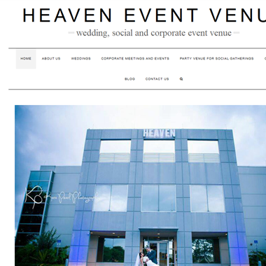 Heaven Event Venue wedding vendor preview