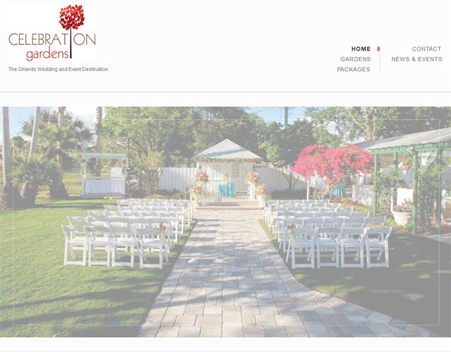 Orlando Celebration Gardens wedding vendor photo