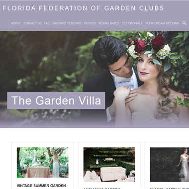 Florida Federation of Garden Clubs wedding vendor preview