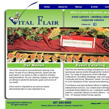 Vital Flair wedding vendor preview