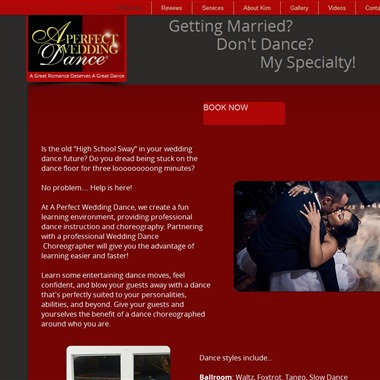 A Perfect Wedding Dance wedding vendor preview