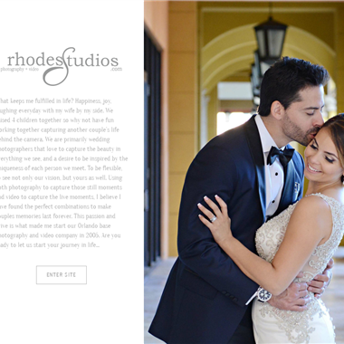 Rhodes Studios wedding vendor preview
