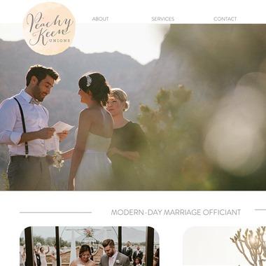 Peachy Keen Union wedding vendor preview
