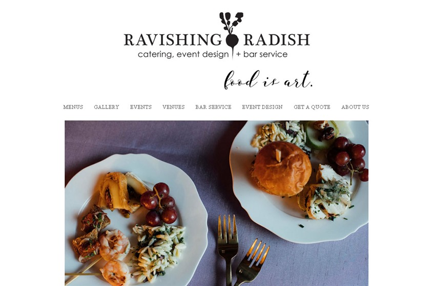 Ravishing Radish Catering wedding vendor photo