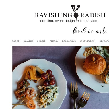 Ravishing Radish Catering wedding vendor preview
