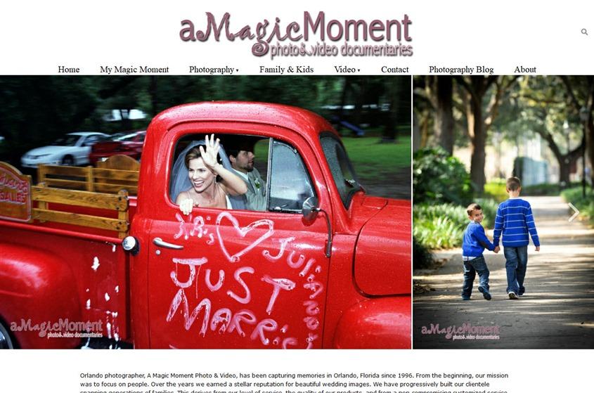 A Magic Moment wedding vendor photo