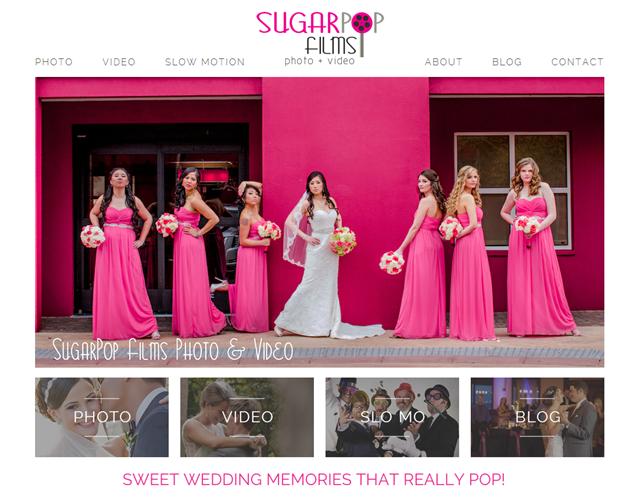 SugarPop Films wedding vendor photo