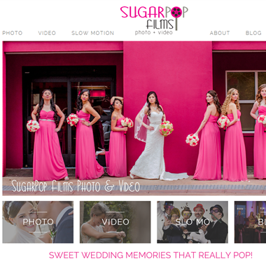 SugarPop Films wedding vendor preview