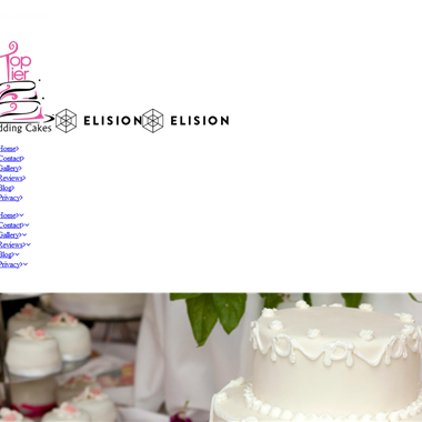 Top Tier Wedding Cakes wedding vendor preview