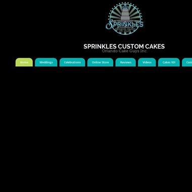 Sprinkles Cakes wedding vendor preview