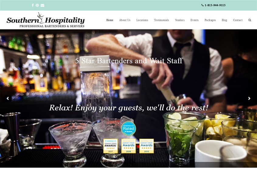 Southern Hospitality Party Services wedding vendor photo