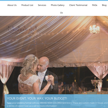 Rental and Parties  wedding vendor preview