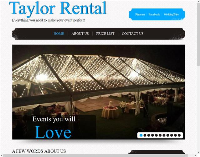 Taylor Rental wedding vendor photo