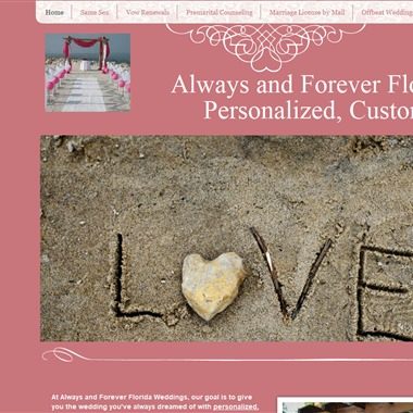 Always and Forever Weddings wedding vendor preview