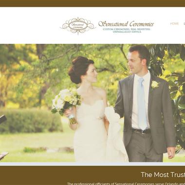 Sensational Ceremonies wedding vendor preview